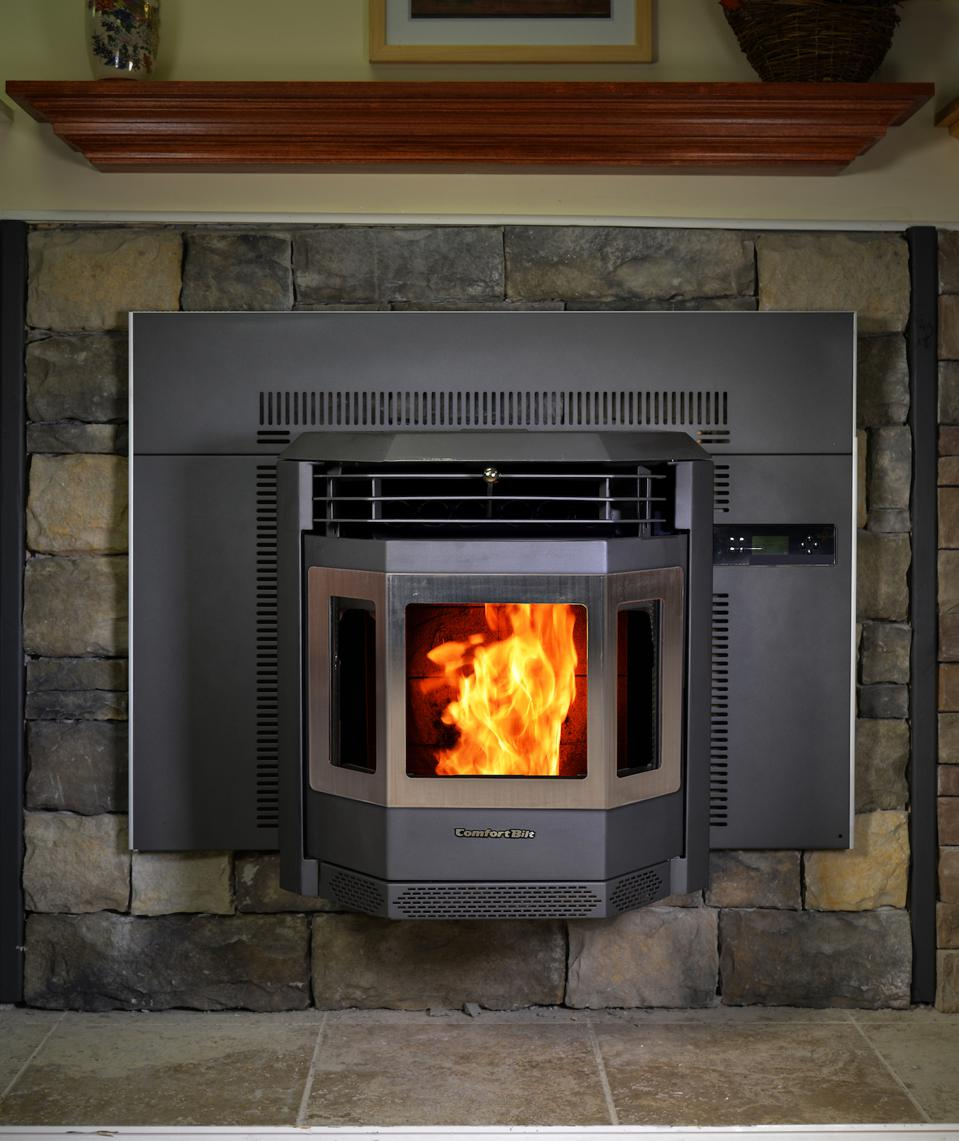 This Pellet Stove Fireplace Insert is another option for using a pellet stove.