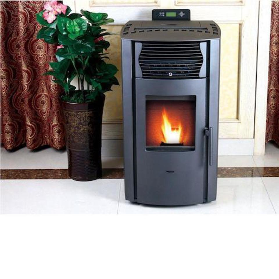 This is a small pellet stove by ComfortBilt.