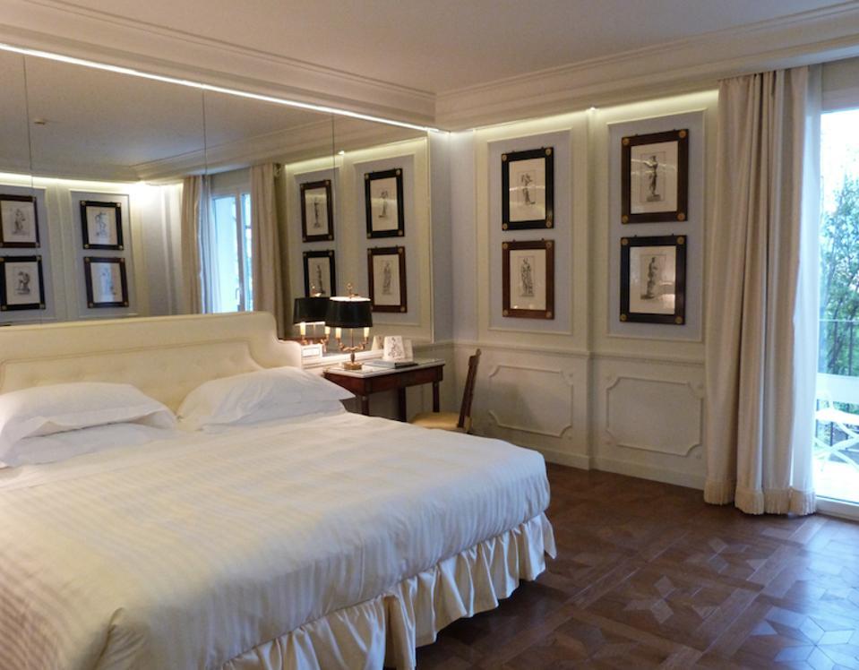 A bedroom,