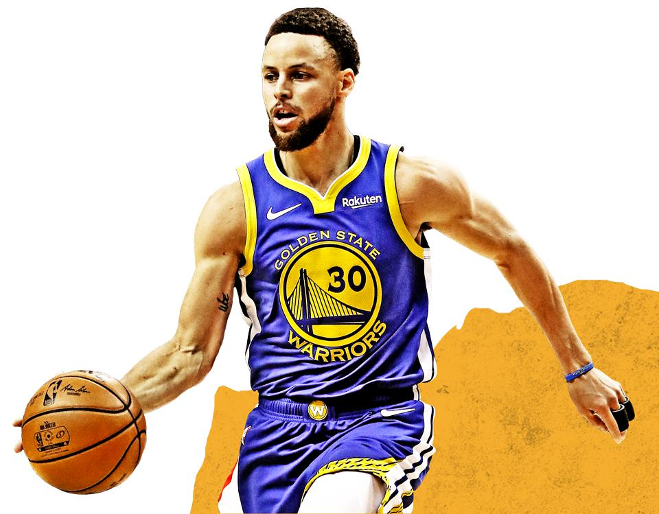The Golden State Warriors' Stephen Curry