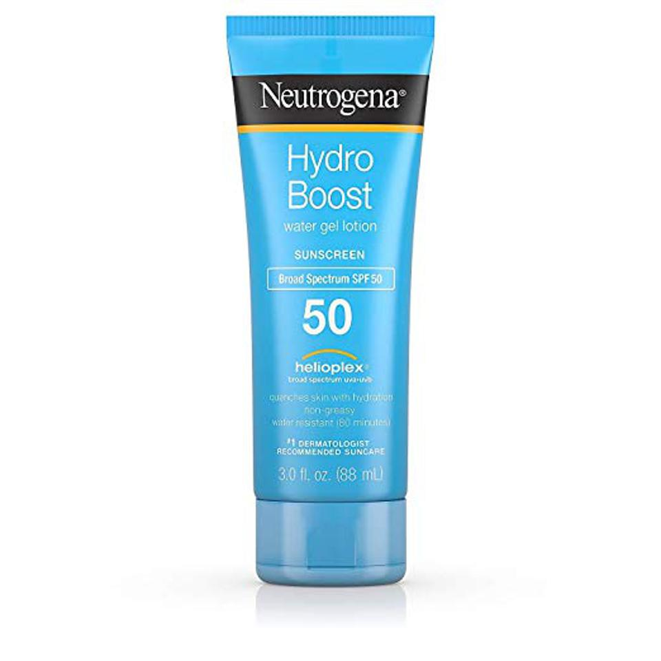 Neutrogena's Hydroboost Non-Greasy Sunscreen Lotion
