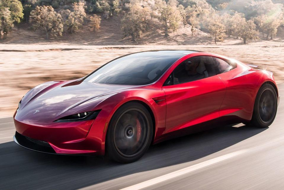 The all-new Tesla Roadster