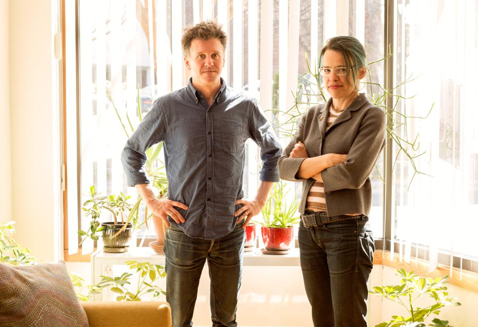 Merge Records co-founders Mac McCaughan and Laura Ballance.