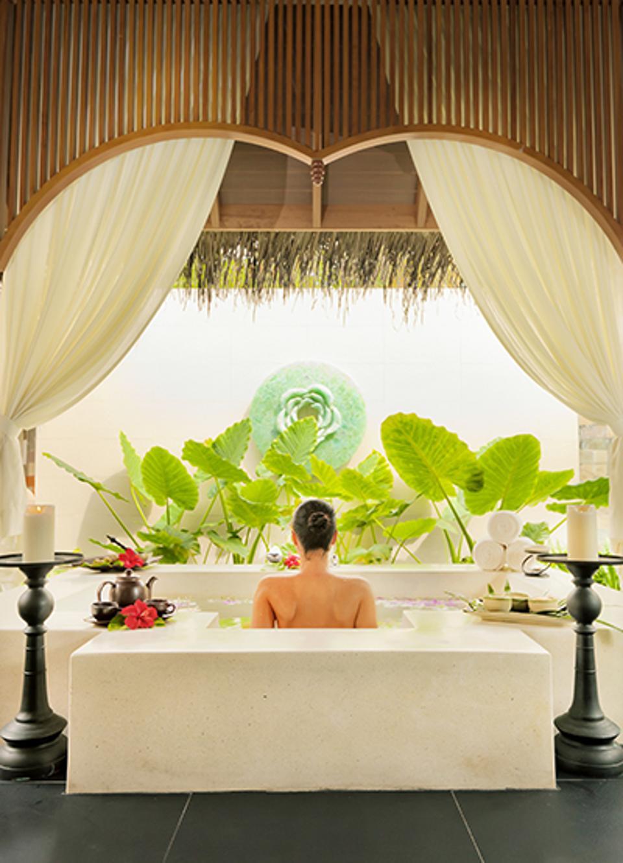Soothing baths at Serenity Spa