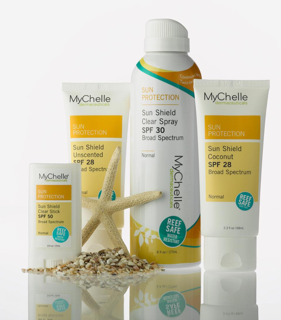 MyChelle Dermaceuticals reef safe sunscreen
