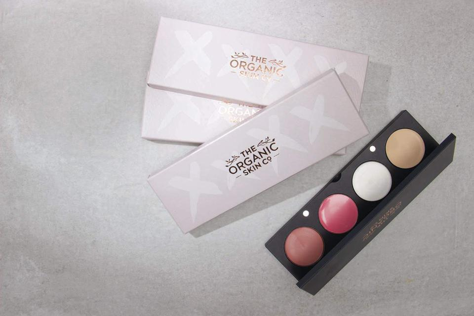 The Organic Skin Co. four palette pod