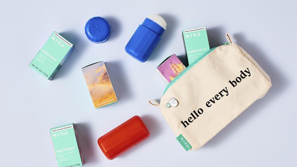 Myro, a nontoxic deodorant line