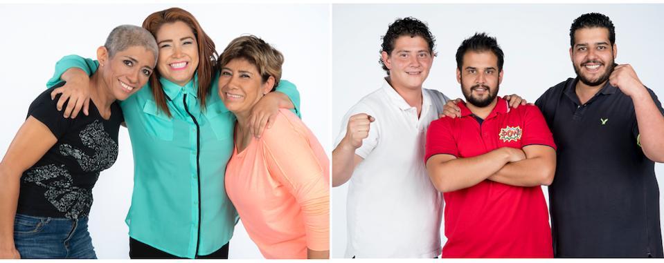 Bárcenas and the Gudiños families