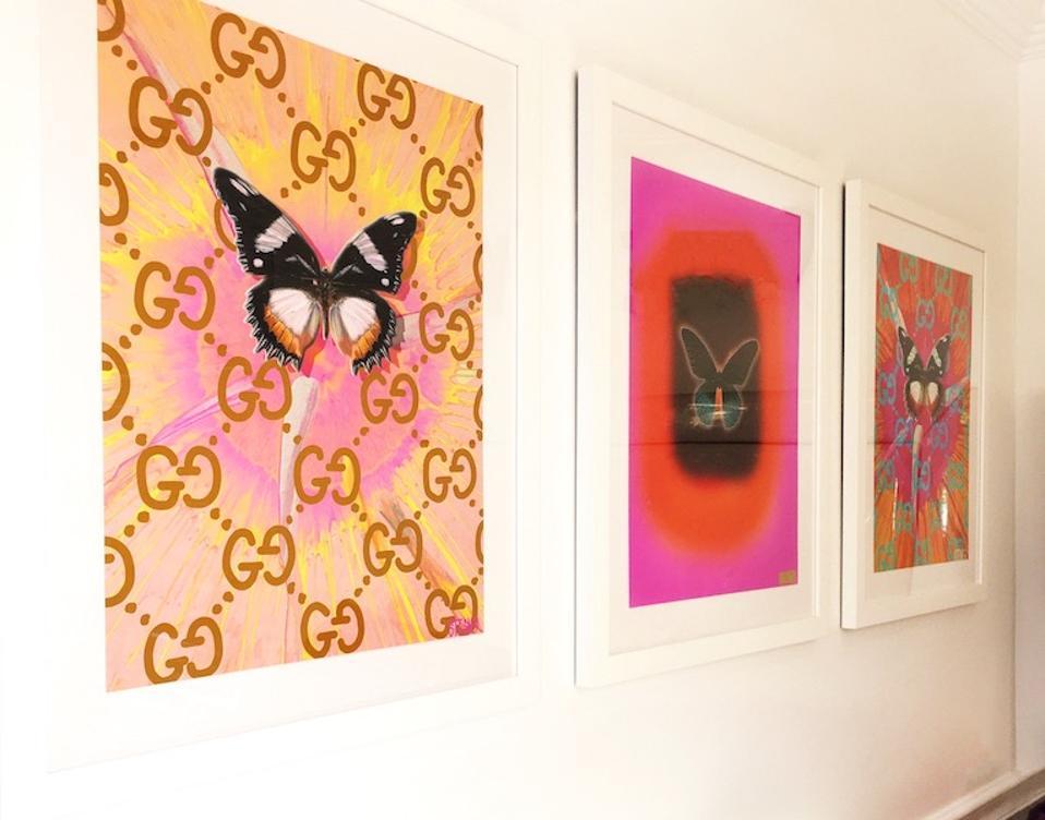 ArtSugar gallery wall.