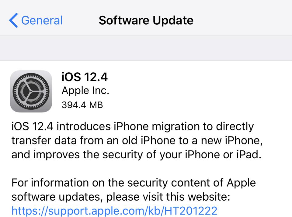 Apple Releases iOS 12 4: The Last iOS 12 Update? Here's All