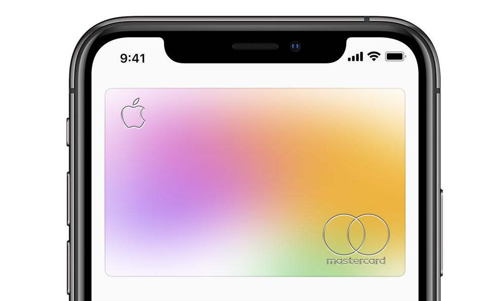 The much-anticipated Apple Card.