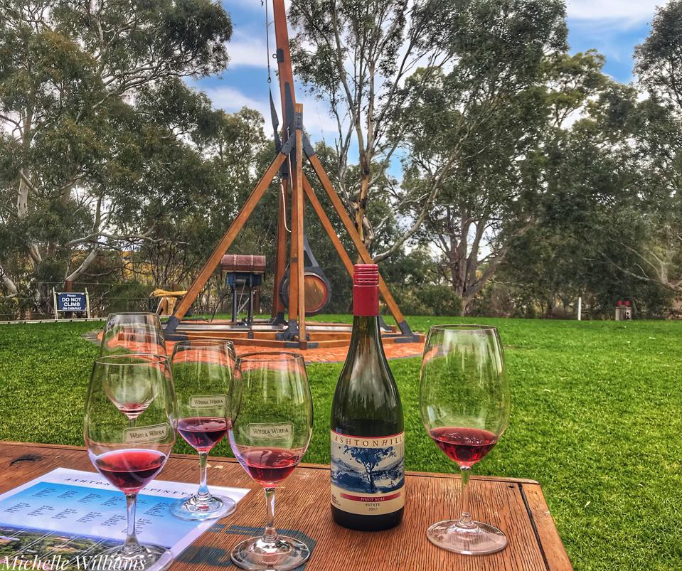 Head to Wirra Wirra Winery in McLaren Vale for great wine, food, and watermelon launching
