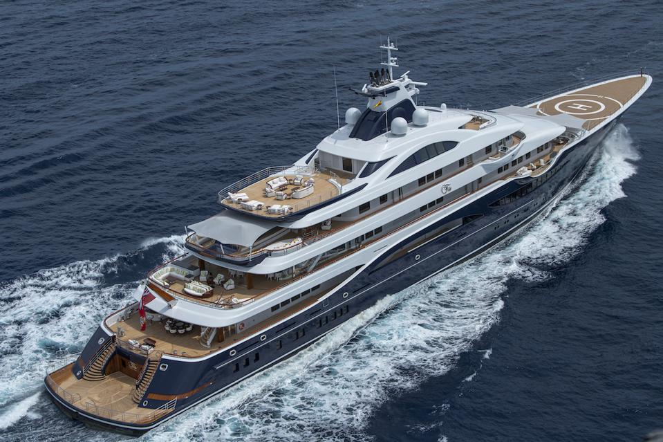 The 365-foot-long TIS is an impressive sight.