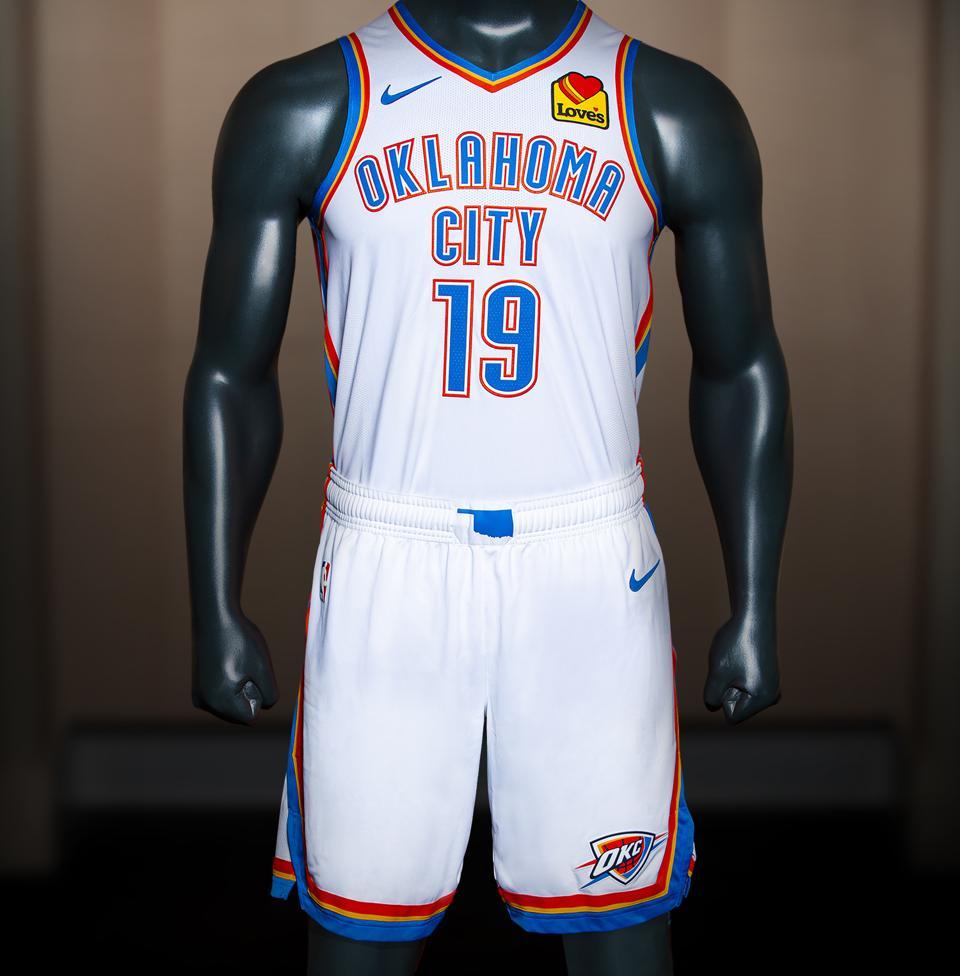 watch 1a736 86095 Oklahoma City Thunder Unveil New 2019-20 Uniform Kit