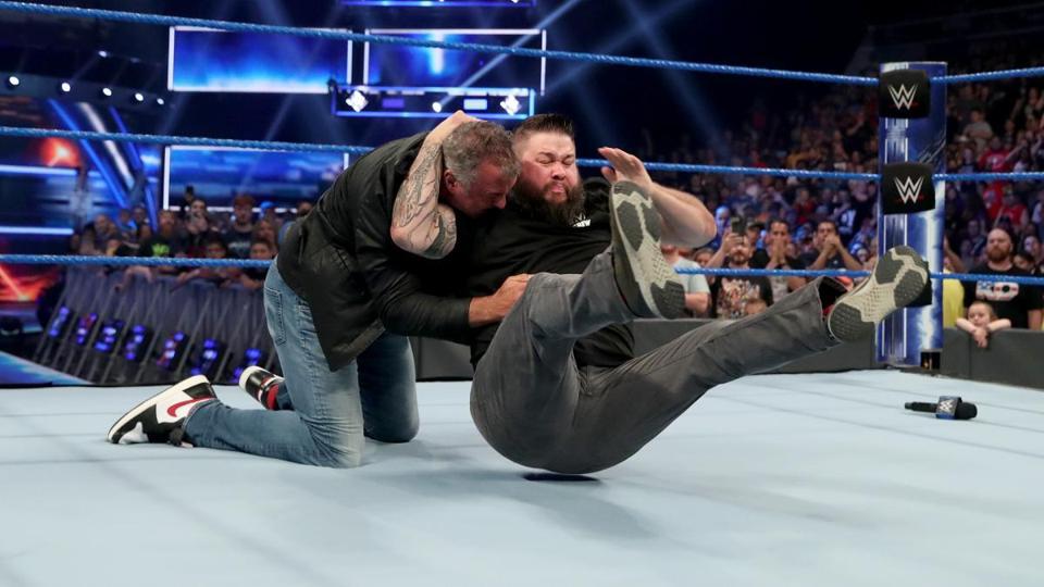 Kevin Owens stuns Shane McMahon