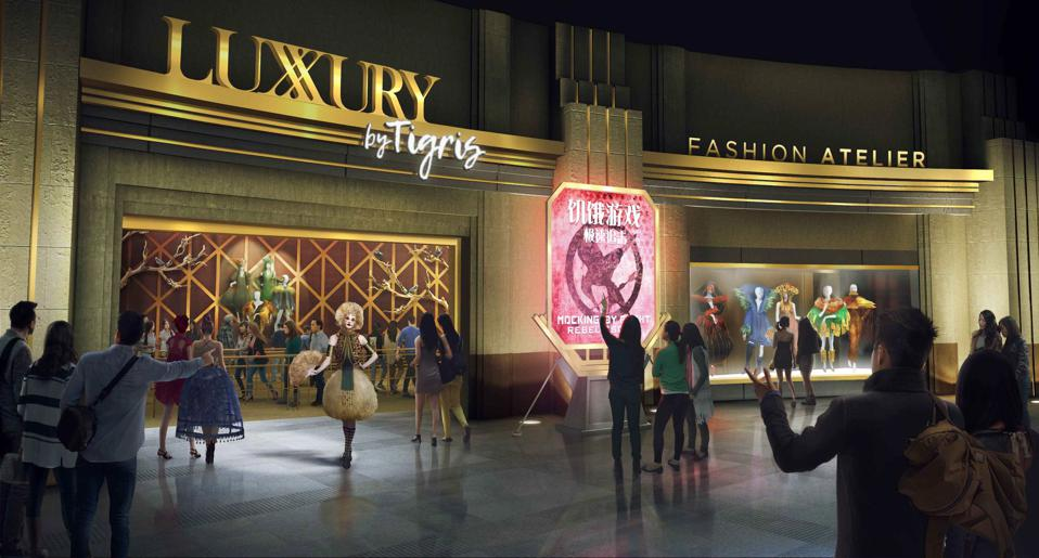 Hunger Games attraction at Lionsgate Entertainment World