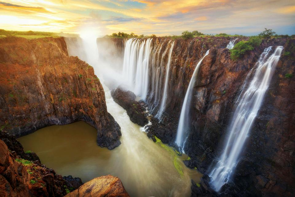 Victoria falls from Exodus Travels
