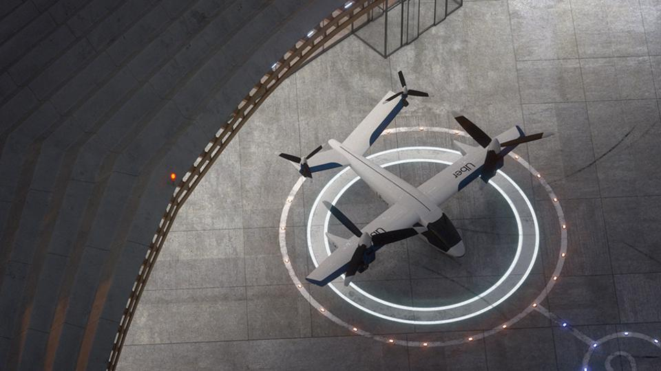 Karem Aircraft's Butterfly, a flying car, is targeting service on Uber's future on-demand aerial mobility network.