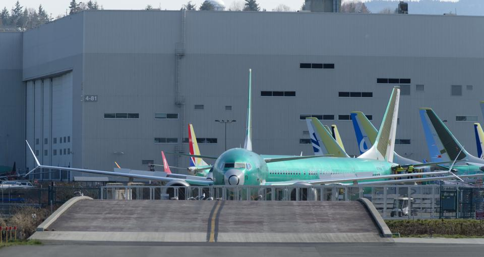 Boeing Test Flights Continue For MAX Planes Before Shipment To Customers