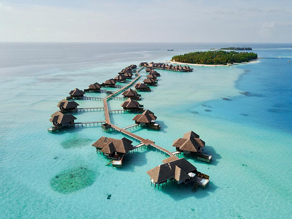 The Overwater Villas at Conrad Maldives Rangali Island