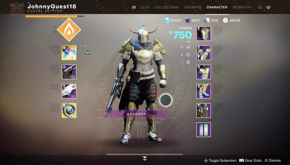 Reminder: You Can Skip The 'Destiny 2' Iron Banner Armor