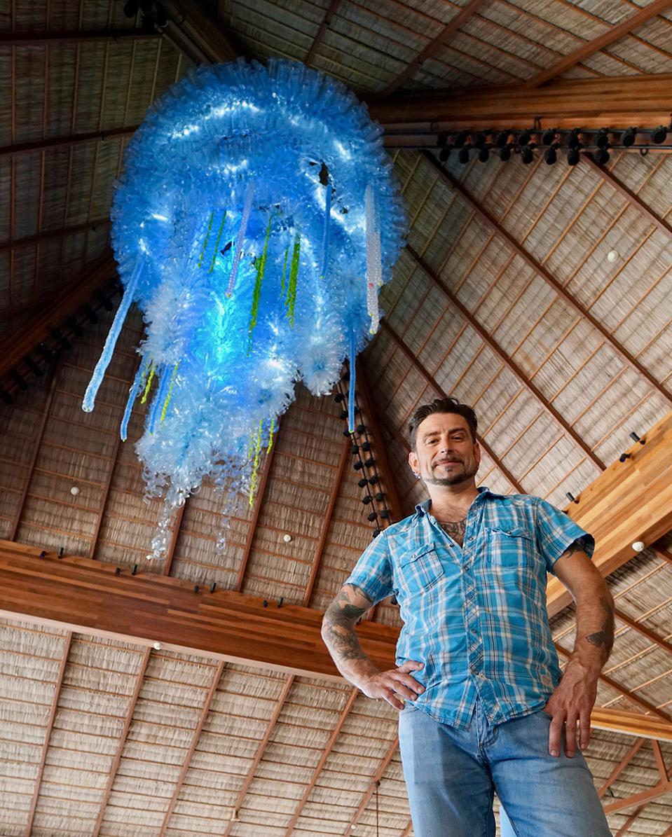 Eco Artist John K. Melvin