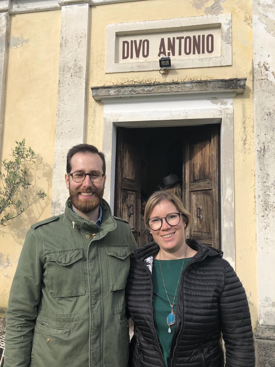 Church at Tenuta Amadio with Rech Siblings