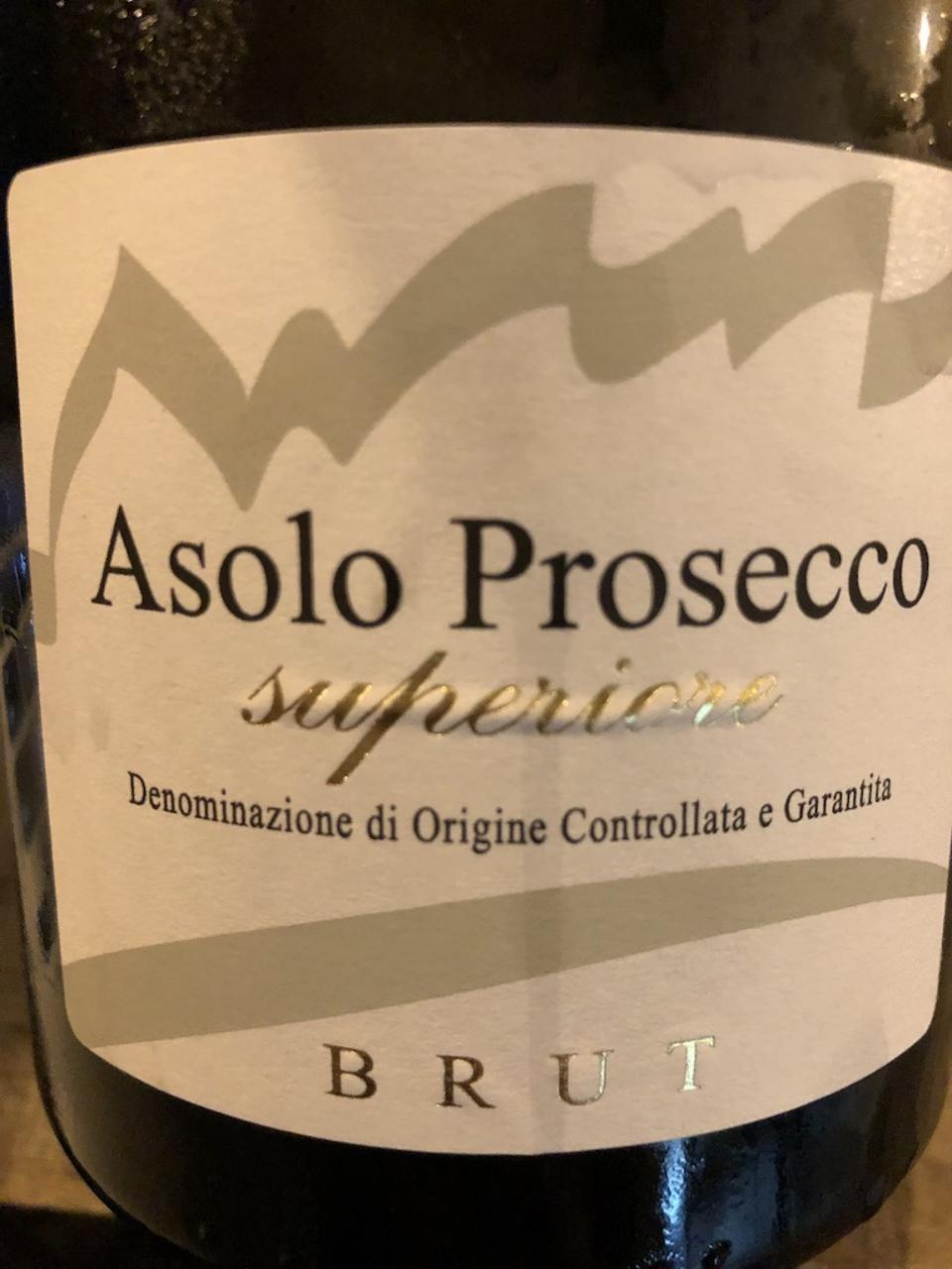 Asolo DOCG Prosecco