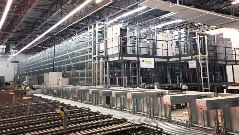 The world's first automated micro-fulfillment center