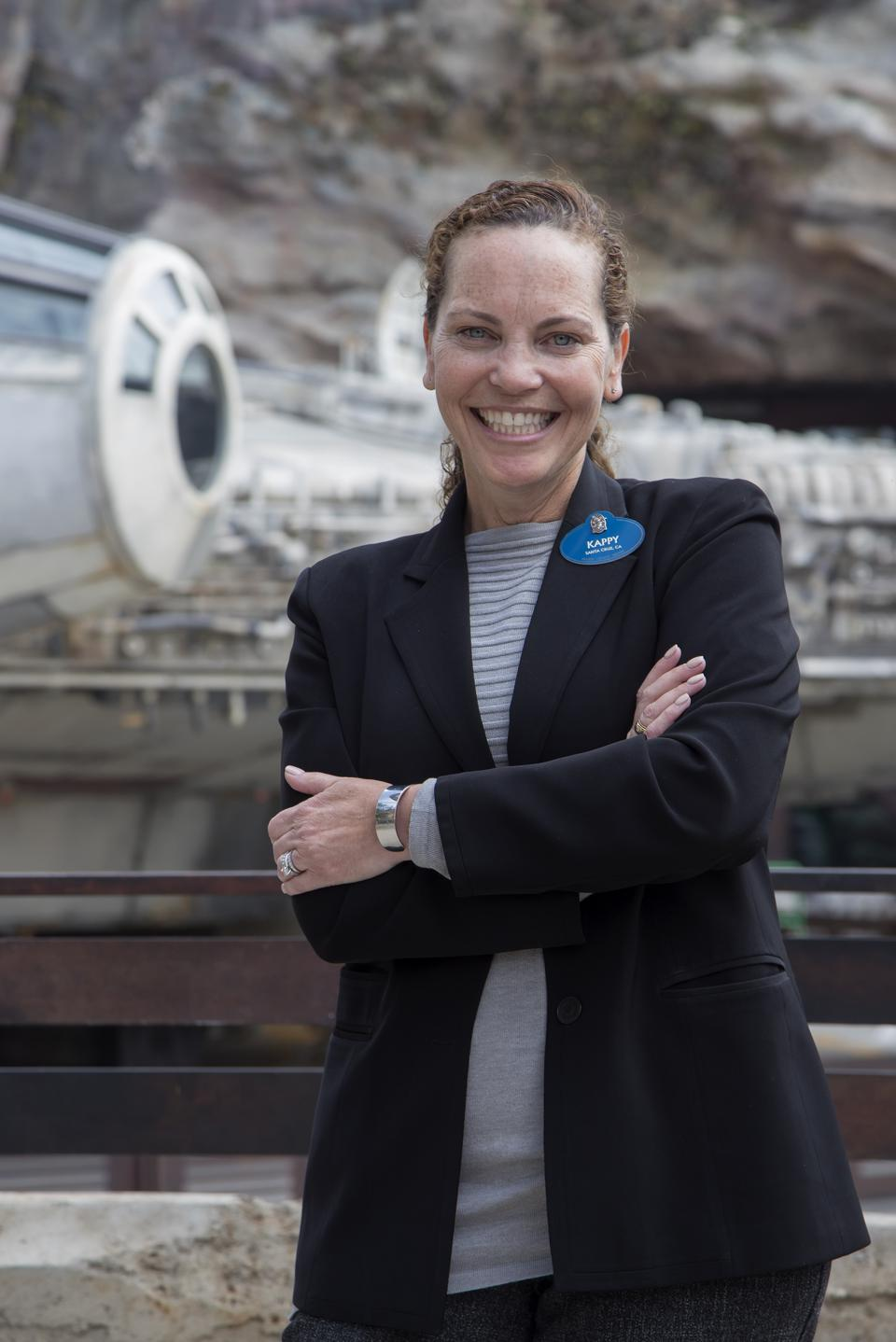 Kappy Thorsen is responsible for ensuring that the guest experience at Disneyland is out of this world