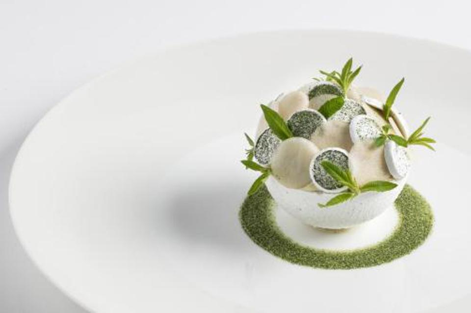 A dish at Core by Clare Smyth.
