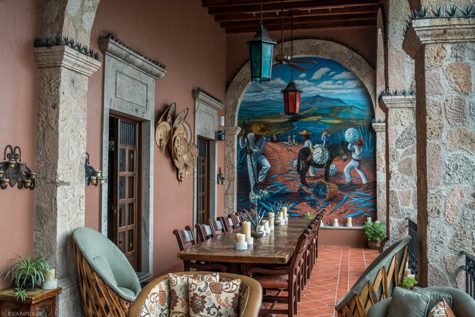Inside the Patrón Hacienda