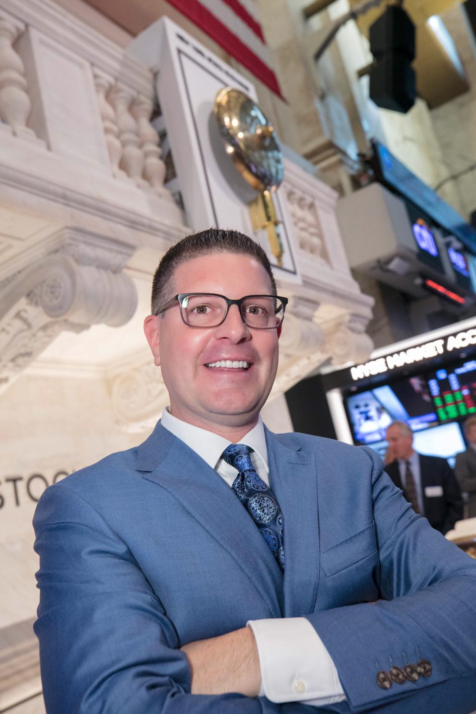 Christian Magoon At The NYSE