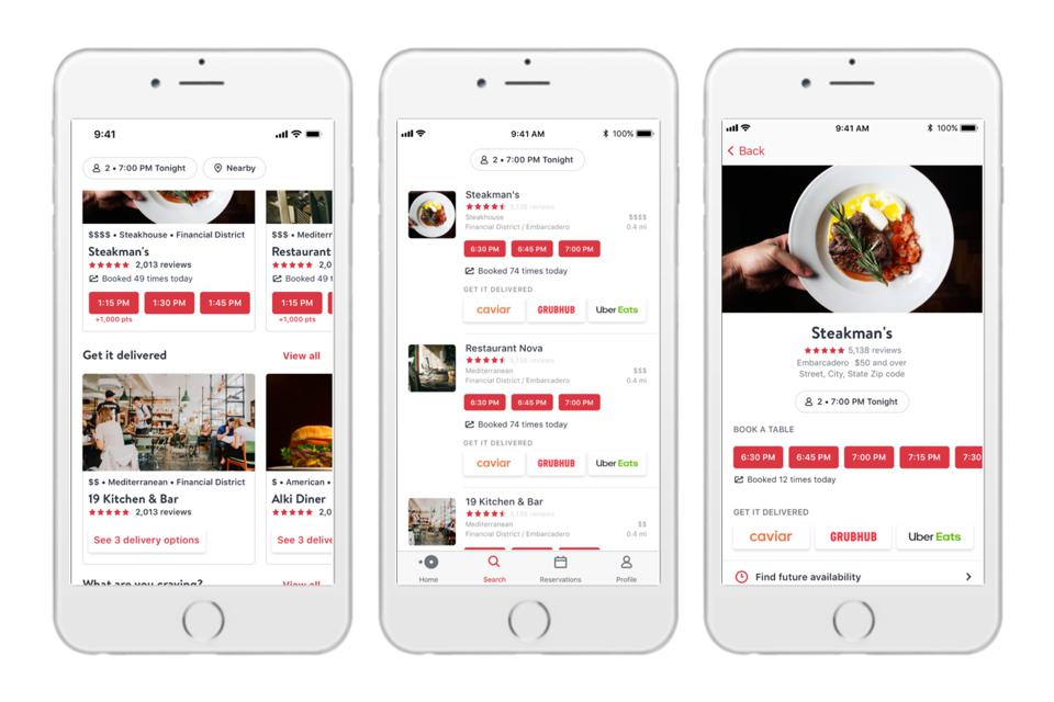 Mobile Apps US   OpenTable