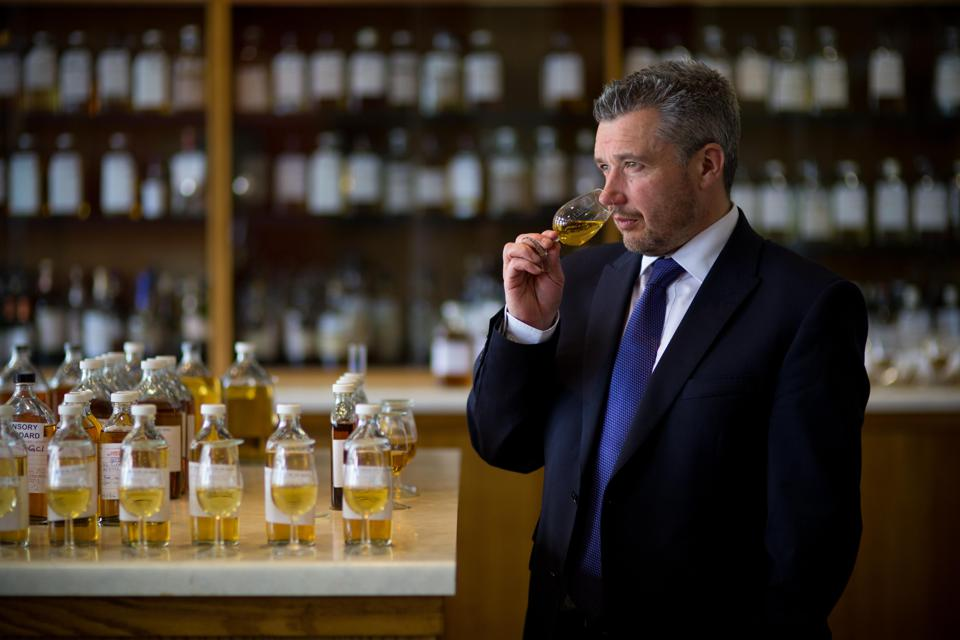 The Lost Blend and The Malts Blend were both crafted by Sandy Hyslop, the Master Blender for Royal Salute (seen here).