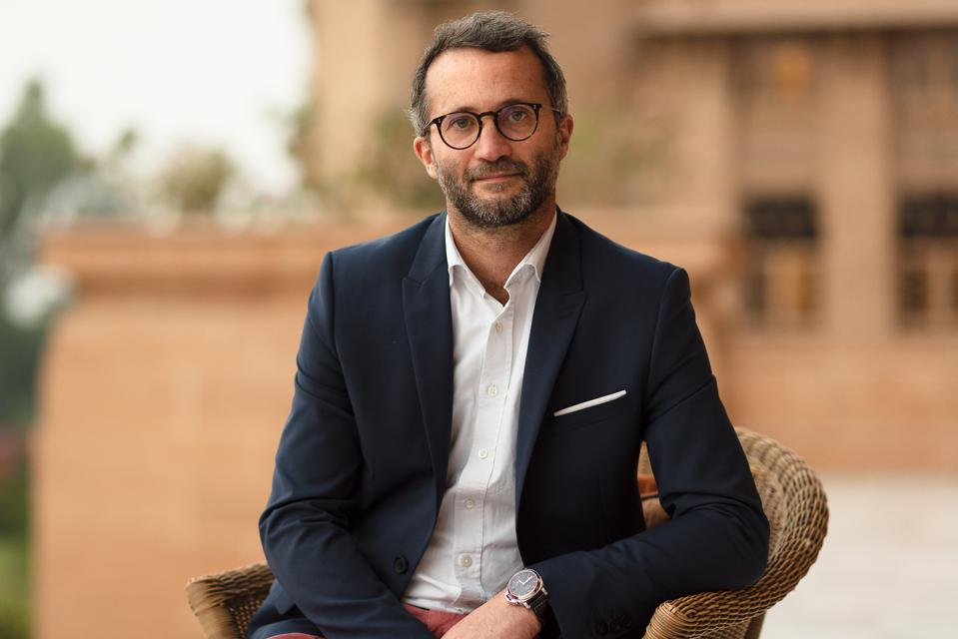 Royal Salute Marketing Director Mathieu Deslandes.