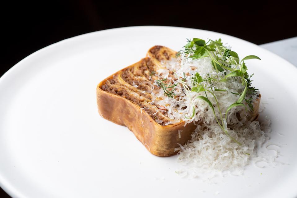 nightshade la, nightshade restaurant, mapo tofu lasagna, pork ragu lasagna, nightshade, la
