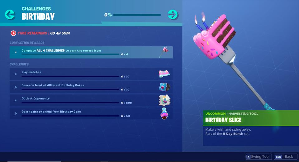 Prime Fortnites Birthday Challenges And Rewards Are Live Heres How To Funny Birthday Cards Online Aeocydamsfinfo