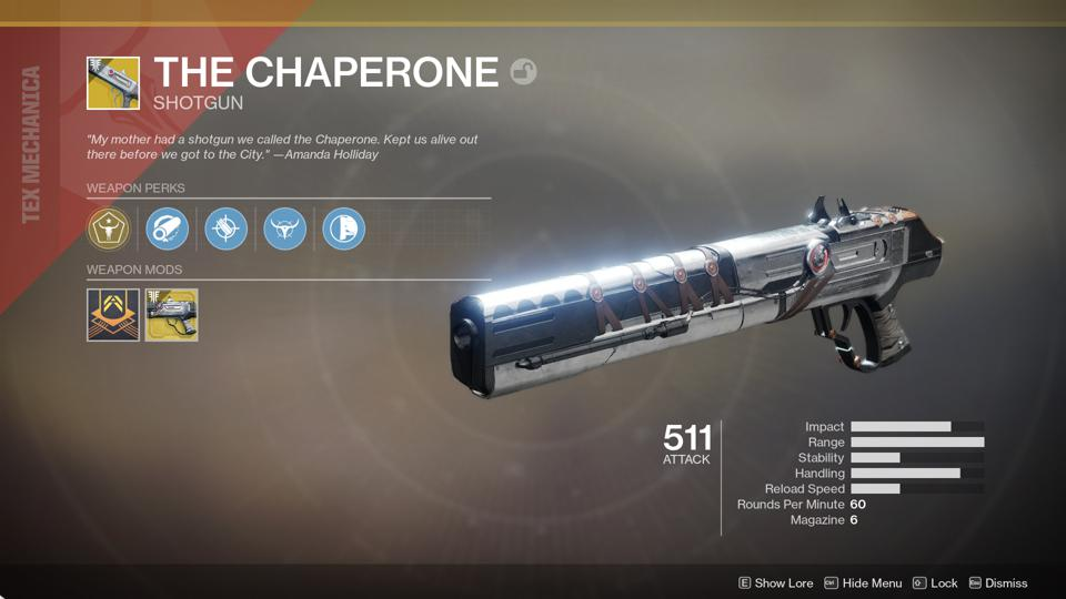 Here Are The Exact Quest Steps For Destiny 2's Chaperone