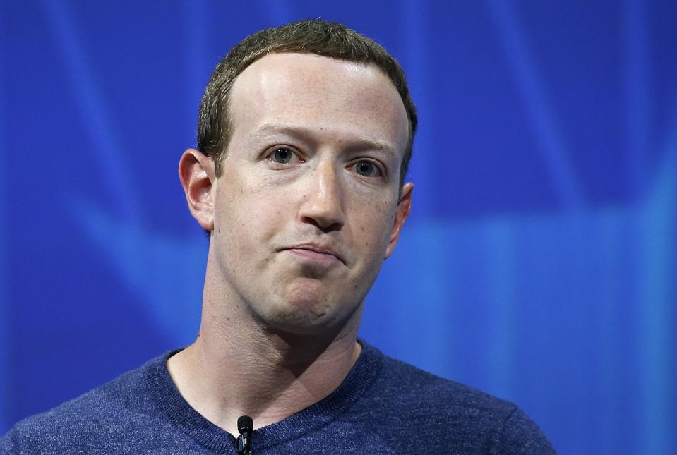 Facebook CEO and cofounder Mark Zuckerberg.