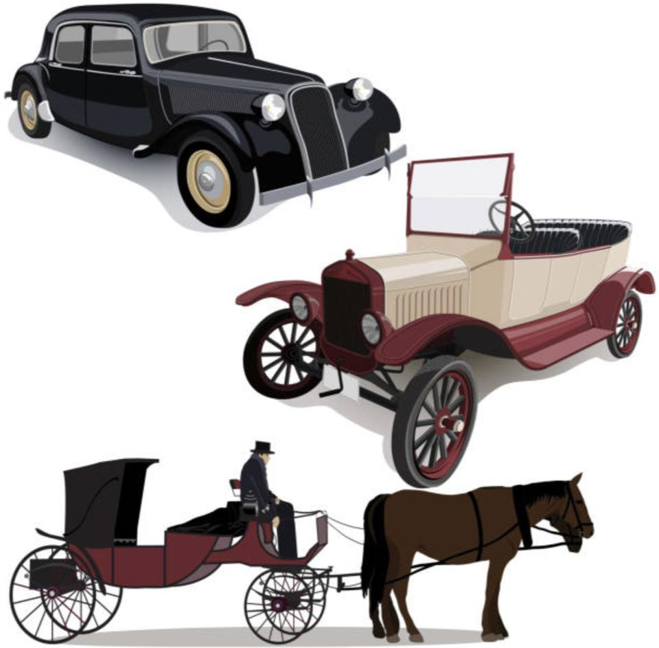Revolution, and subsequent evolution of the automobile.