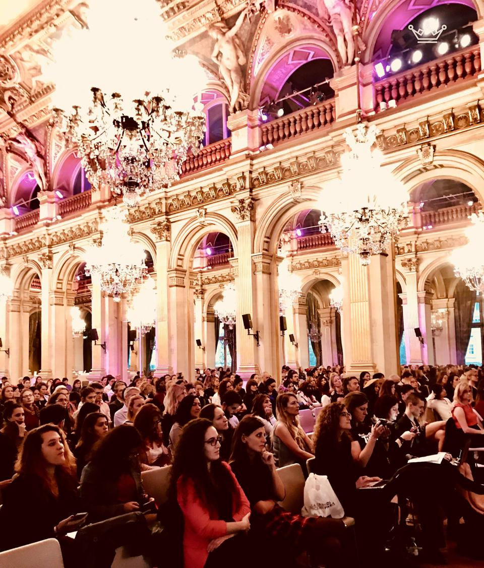 Crowd shot - Women Startup Challenge Europe, City Hall Paris.