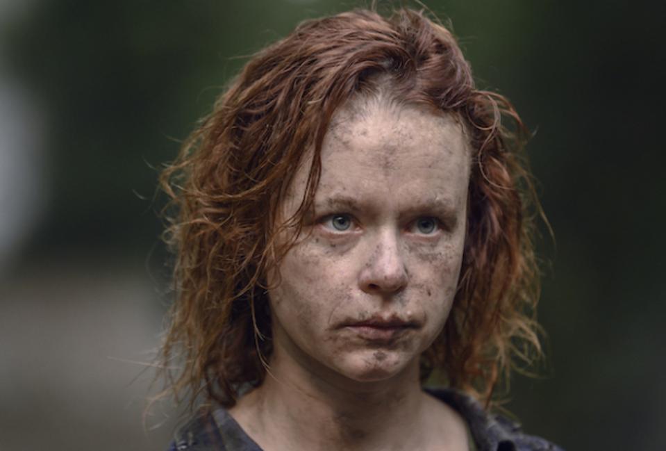 The Walking Dead Unveils Thora Birch S Gamma A Non Comic