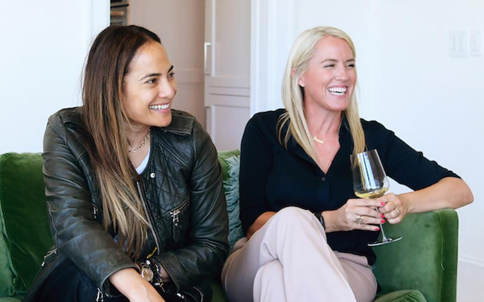 Founders of The What: Gina Pell and Amy Parker