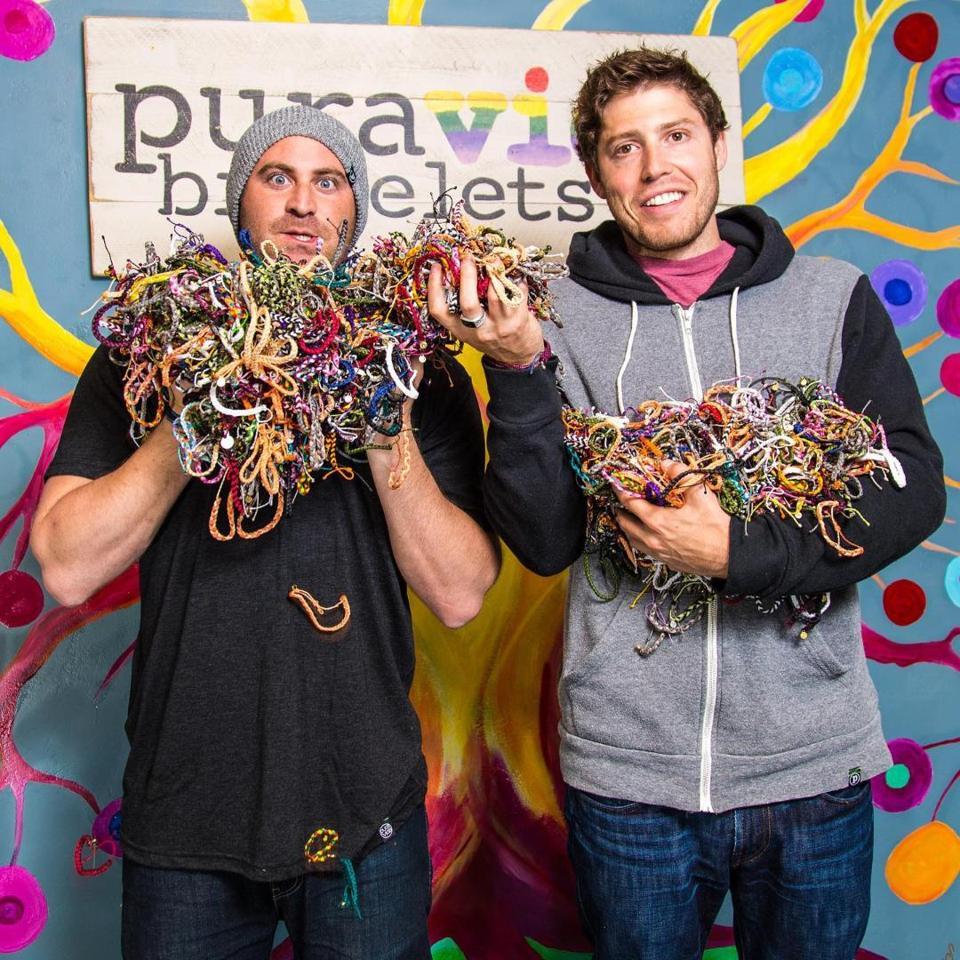 Pura Vida Founders, Griffin Thall and Paul Goodman