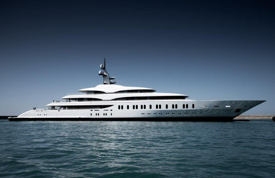 Exclusive photo of Benetti's new superyacht.