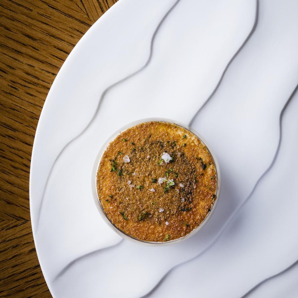 Amber, Landmark Mandarin Oriental, Hong Kong, Okinawa corn, Kristal Schrenki caviar