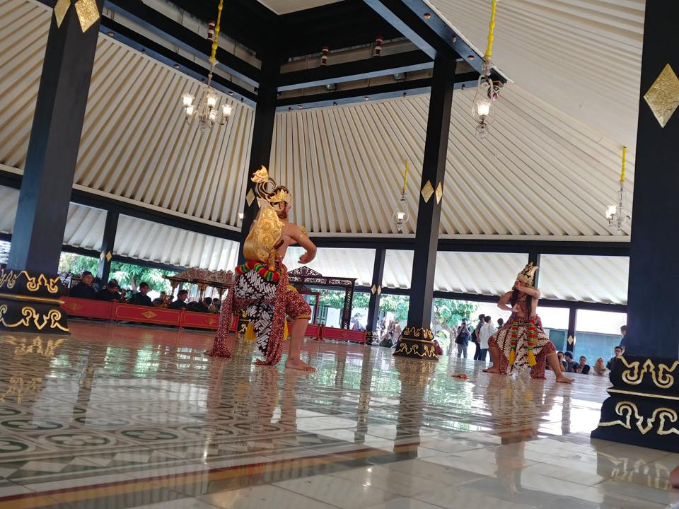 Classical Javanese Dance at the Sultan's Palace in Yogyakarta