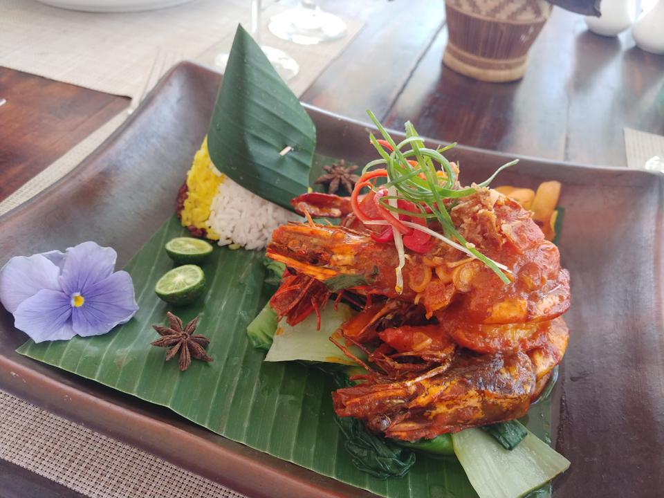 Udang Arsik Tapanuli Dish in Borobudur