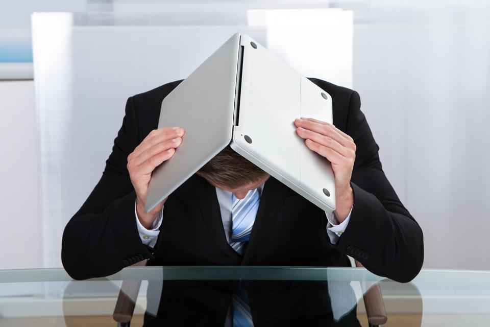 Frustated Executive